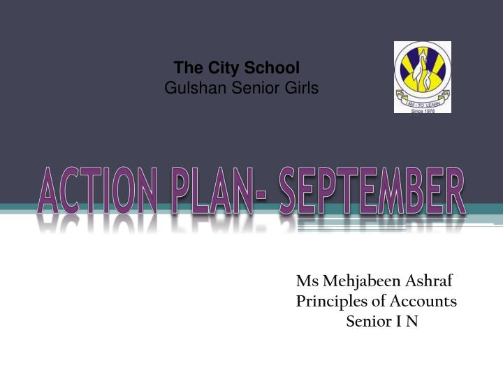 action plan september n.
