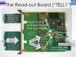 the read out board tell1