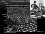 people of plenty continued