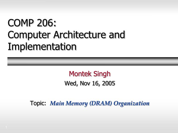 computer architecture notes On the other hand, computer architecture is a rich source of ideas and understanding for other areas of computer science, giving you a broad and stronger foundation for the study of programming, computer languages, compilers, software architecture, domain specific computing (eg, scientific computing), etc.
