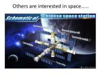 others are interested in space