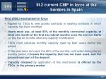 iii 2 current cmp in force at the borders in spain1