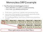 memoryless drfq example
