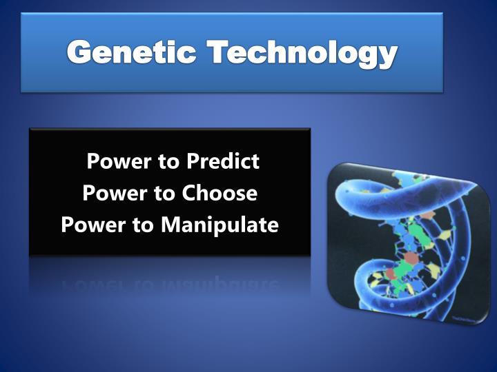 Genetic Technology