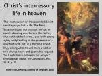 christ s intercessory life in heaven