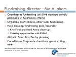 fundraising director mo allaham