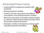 activity based process costing1
