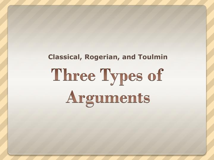 classical rogerian and toulmin n.