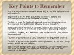 key points to remember2