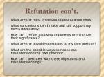 refutation con t