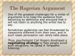 the rogerian argument