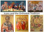 icons and the orthodox tradition