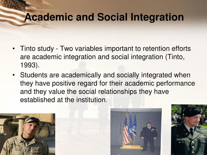 Academic and Social Integration