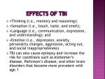effects of tbi