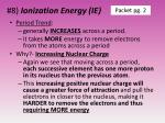 8 ionization energy ie2