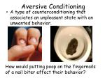 aversive conditioning1