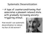 systematic desensitization1