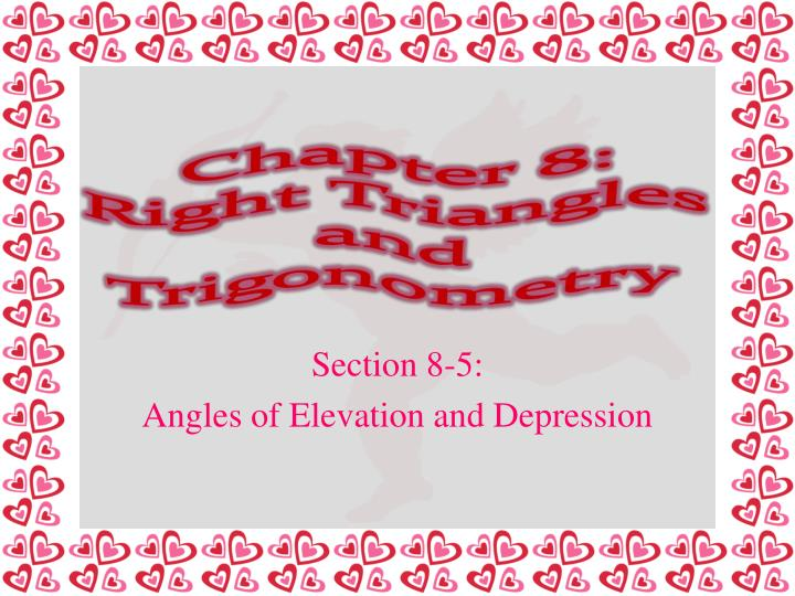 chapter 8 right triangles and trigonometry n.