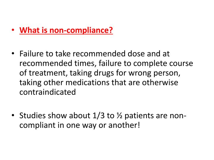 adminestering medication to non compliant patients ¾improperly administering medications requiring  ¾validated scale that estimates the risk of medication non‐adherence  wertheimer ai , santella tm  medication compliance research: still so far to go j appl res 20033(3):254–261.
