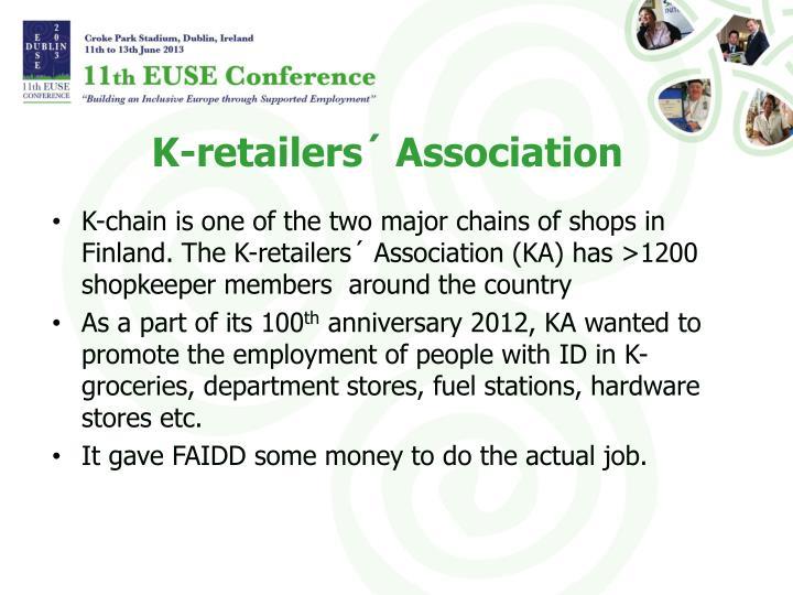 K-retailers