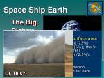 space ship earth