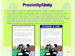 proximity unity1