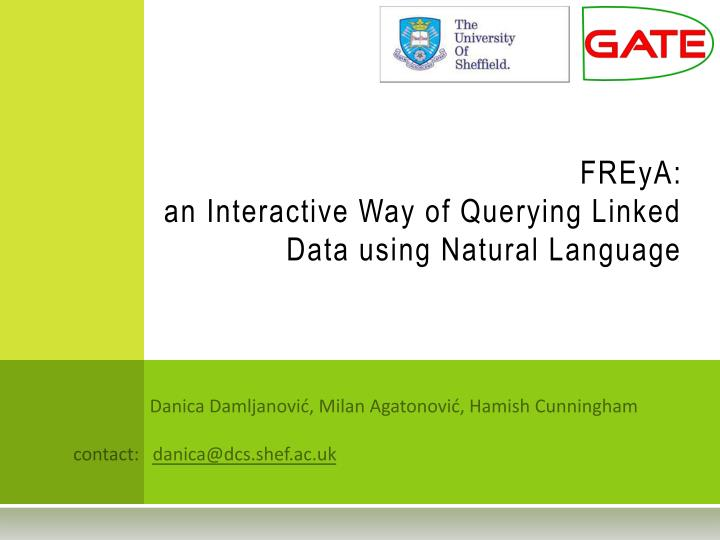 freya an interactive way of querying linked data using natural language n.