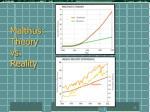 malthus theory vs reality