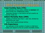 other population measures