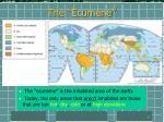 the ecumene