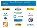 babson enterprise leadership