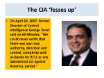 the cia fesses up