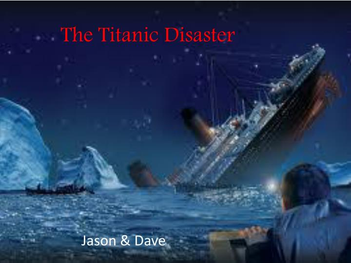 the titanic disaster n.