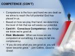 competence con t1