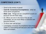 competence con t2