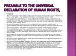 preamble to the universal declaration of human rights