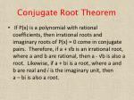 conjugate root theorem