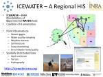 icewater a regional his