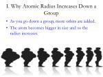 i why atomic radius increases down a group