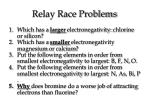 relay race problems