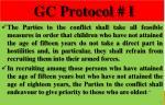gc protocol i