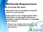 all family requirements1