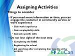 assigning activities4