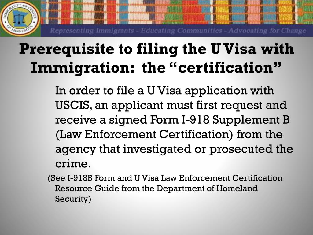 visa victims immigrant crime uscis ppt powerpoint presentation