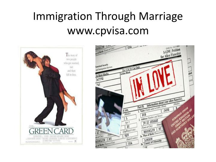 immigration through marriage www cpvisa com n.