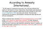 according to amnesty international