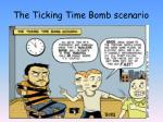 the ticking time bomb scenario1
