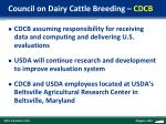 council on dairy cattle breeding cdcb