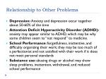 relationship to other problems