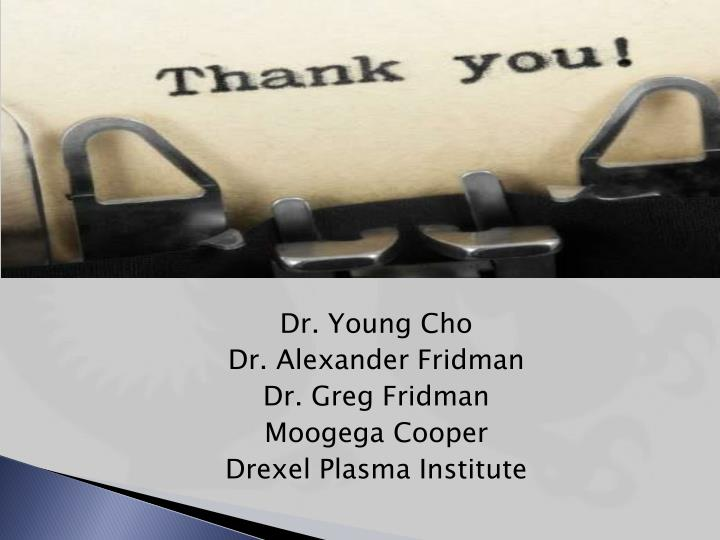 Dr. Young Cho
